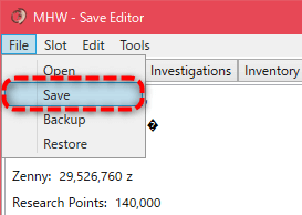 How To Use Mhw Save Editor